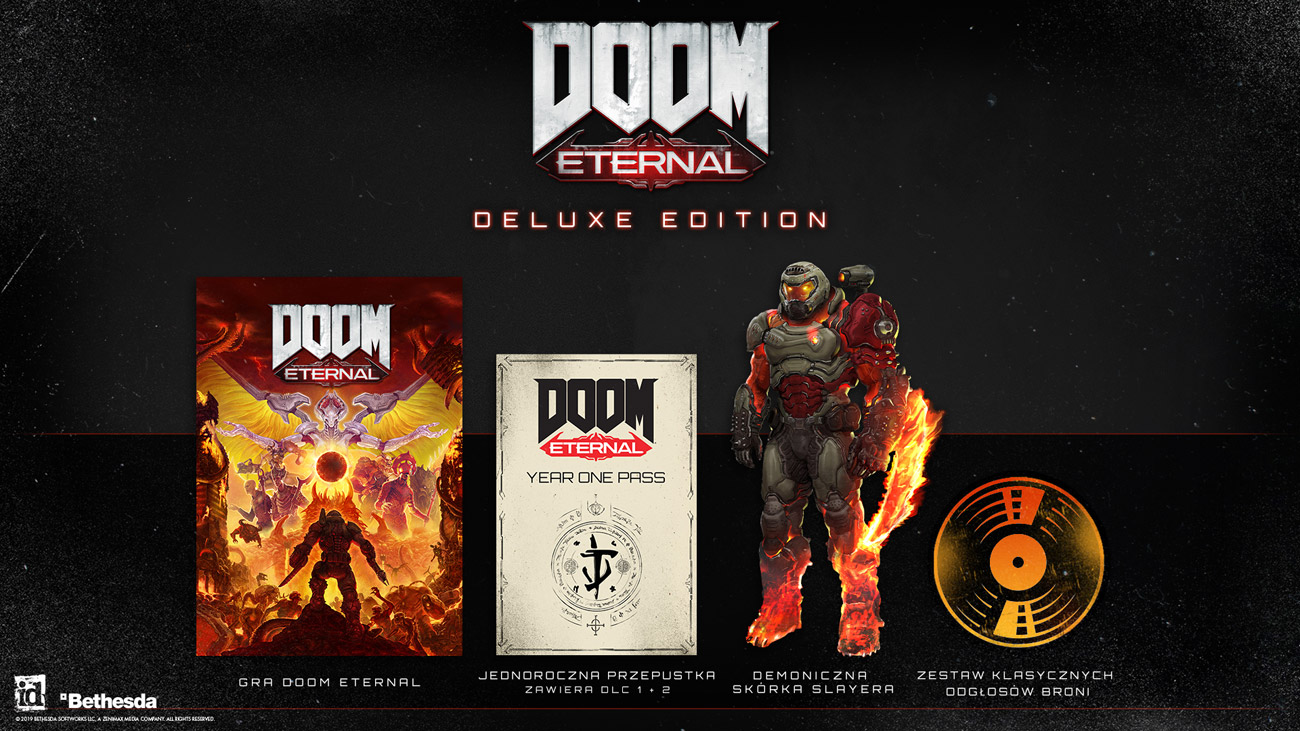 Gra Xbox One DOOM Eternal Deluxe Edition