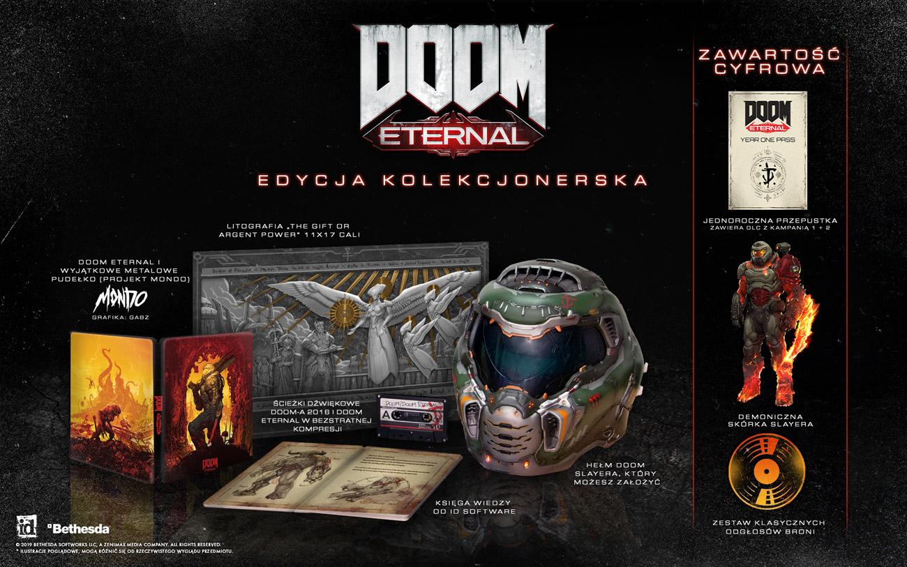 Gra Xbox One DOOM Eternal Collector's Edition