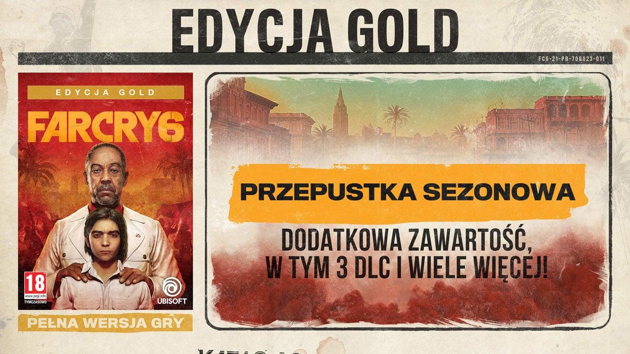 Gra Far Cry 6 - Złota Edycja na PlayStation 4