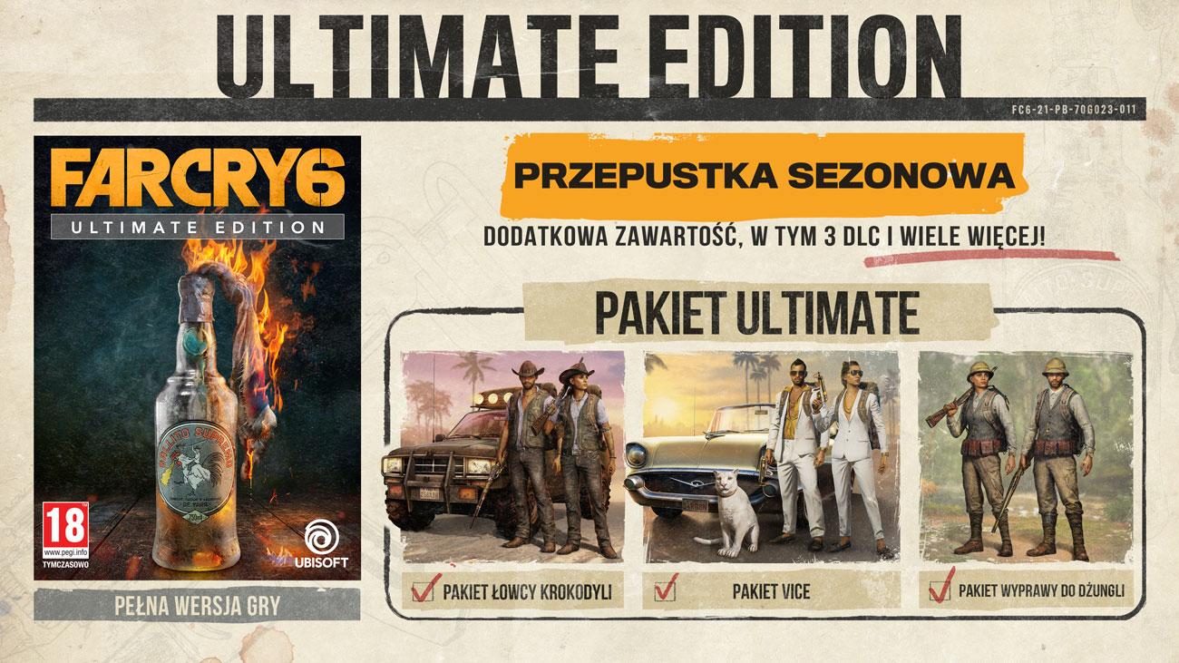 Gra Far Cry 6 - Edycja Ultimate na Xbox One i Xbox Series X