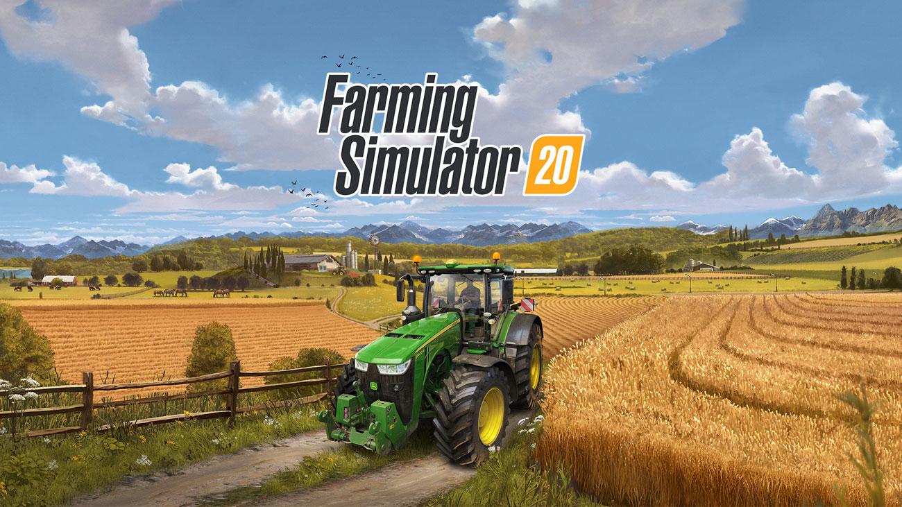 Gra Farming Simulator 20 na Nintendo Switch