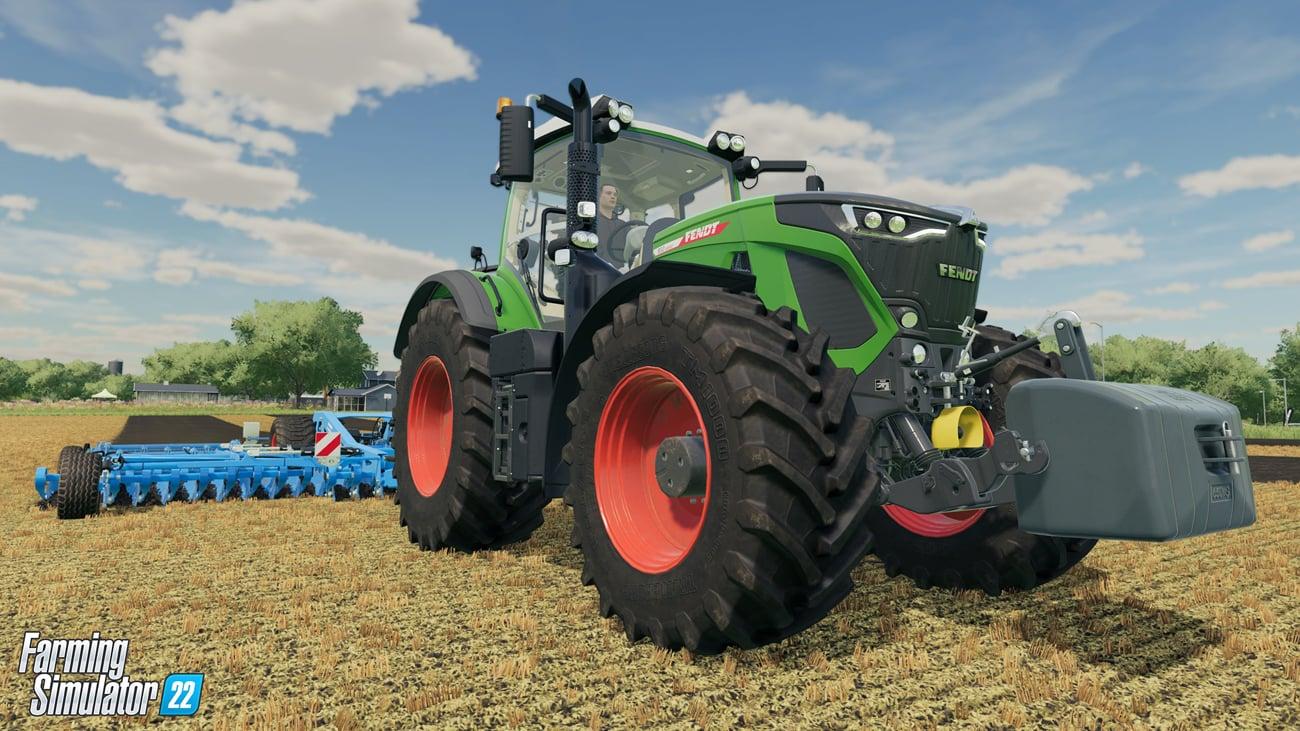 Gra Farming Simulator 22 na Xbox One i Xbox Series X