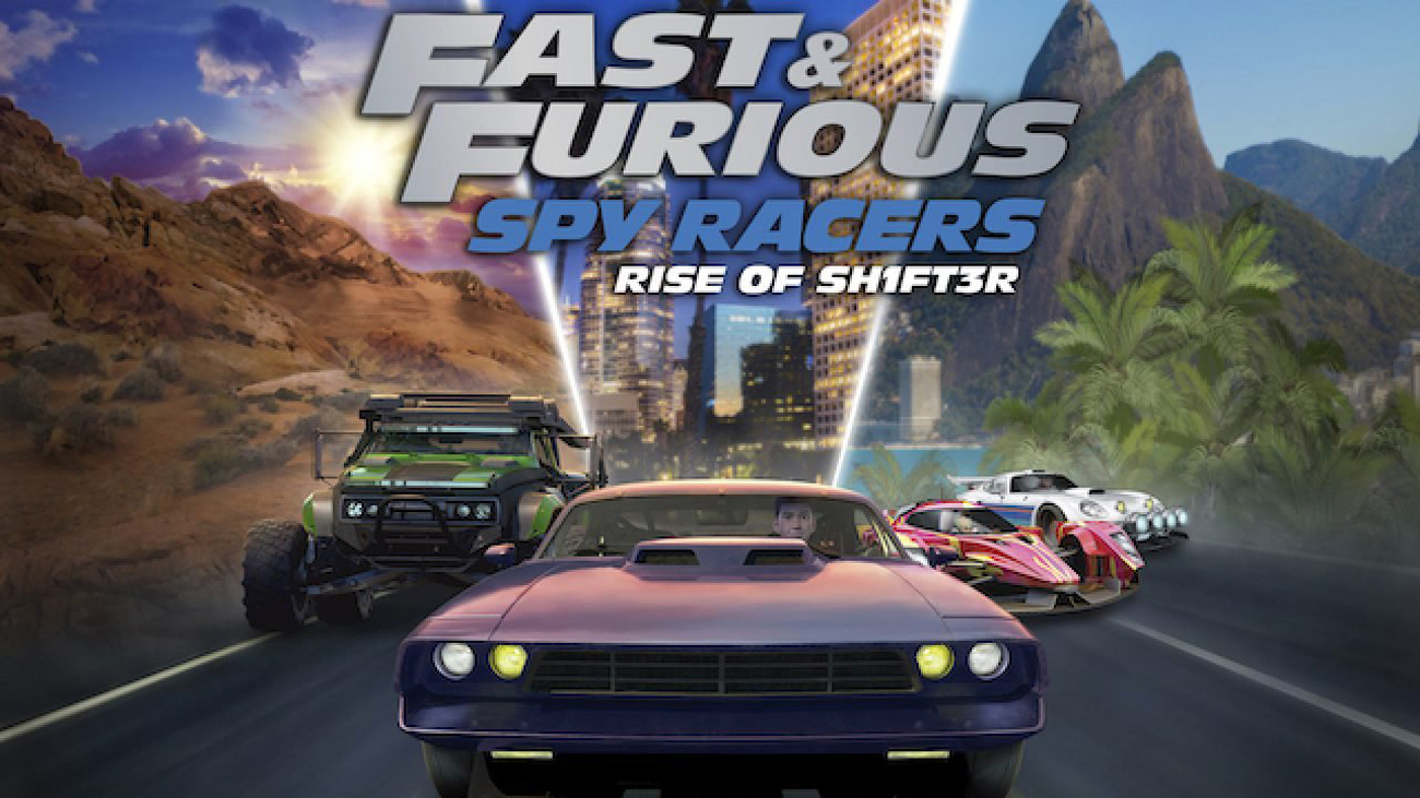 Gra Fast & Furious Spy Racers: Rise of Sh1ft3r na PlayStation 4