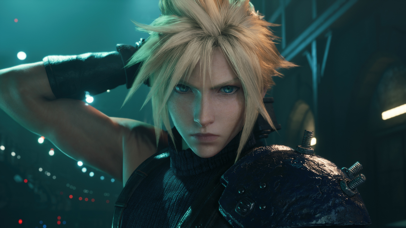 Gra Final Fantasy VII Remake Intergrade na PlayStation 5