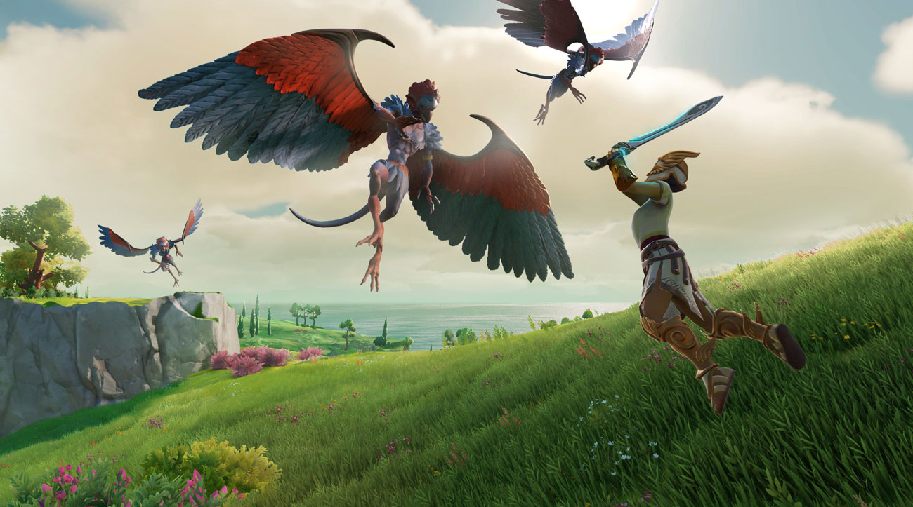 Gra Nintendo Switch Gods & Monsters