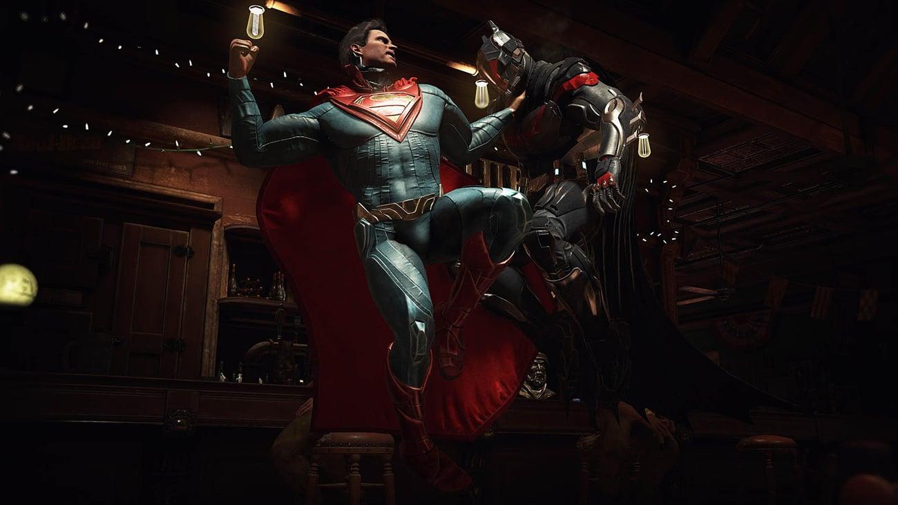 Liczne postacie z uniwersum DC