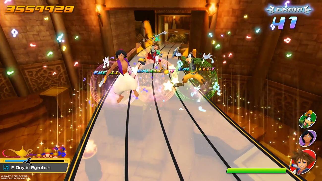 Gra Kingdom Hearts: Melody of Memory na PlayStation 4