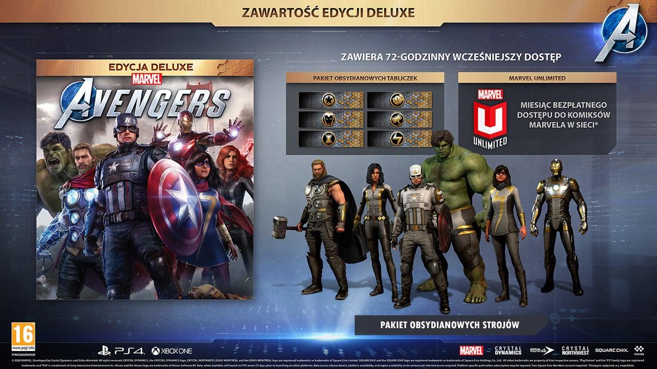 Marvel's Avengers Edycja Deluxe na Xbox One
