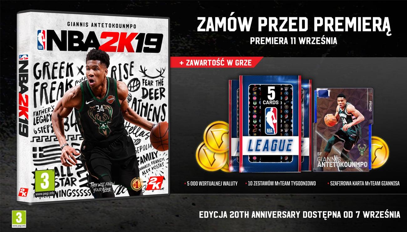 NBA 2K19 - Edycja Standardowa
