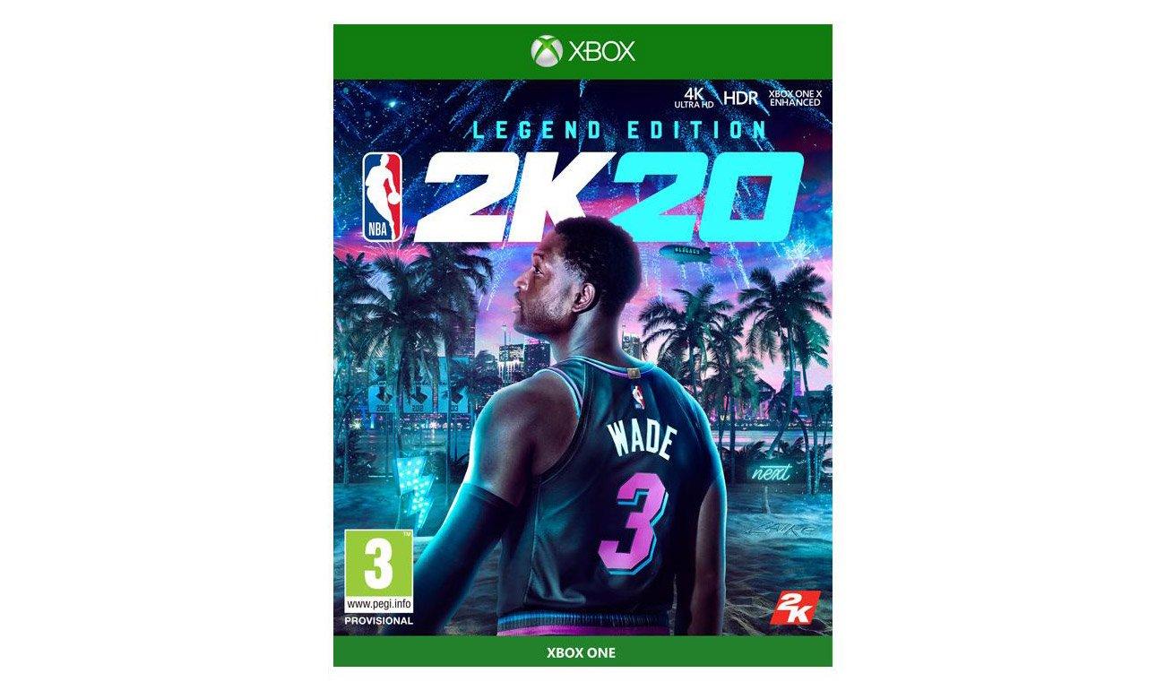 Gra Xbox One NBA 2K20 Legend Edition