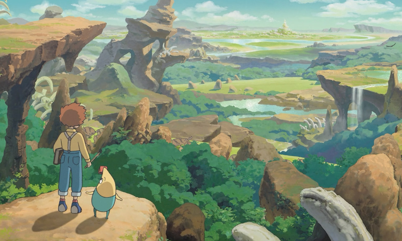 Gra na PS4 Ni No Kuni Wrath Of The White Witch Remastered