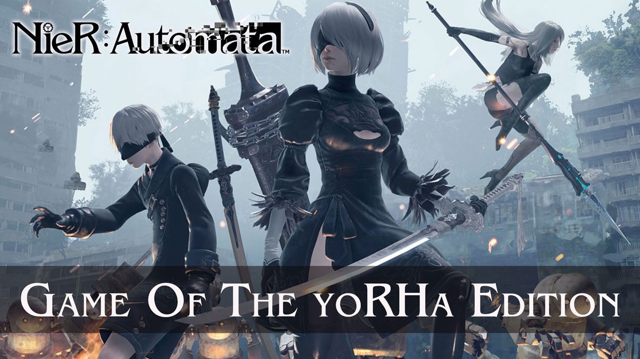 Gra PS4 NieR: Automata Game of the YoRHa Edition