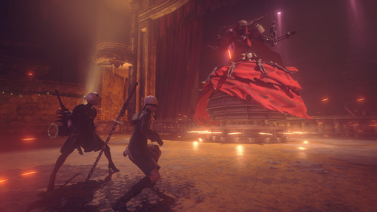 NieR: Automata PS4 Wojna przybiera na sile