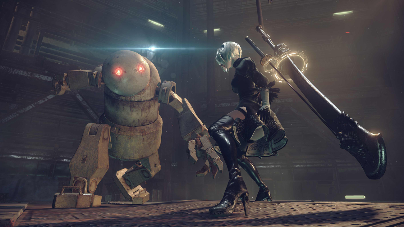 NieR: Automata PS4 Mechanika gry