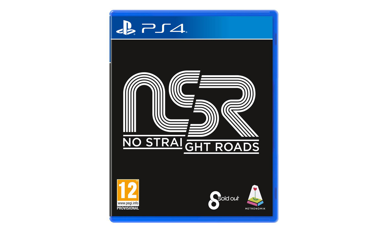 Gra na PS4 No Straight Roads