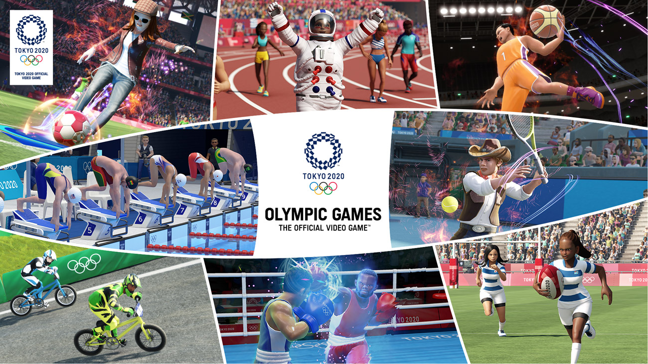 Gra Olympic Games Tokyo 2020 - The Official Video Game na Nintendo Switch
