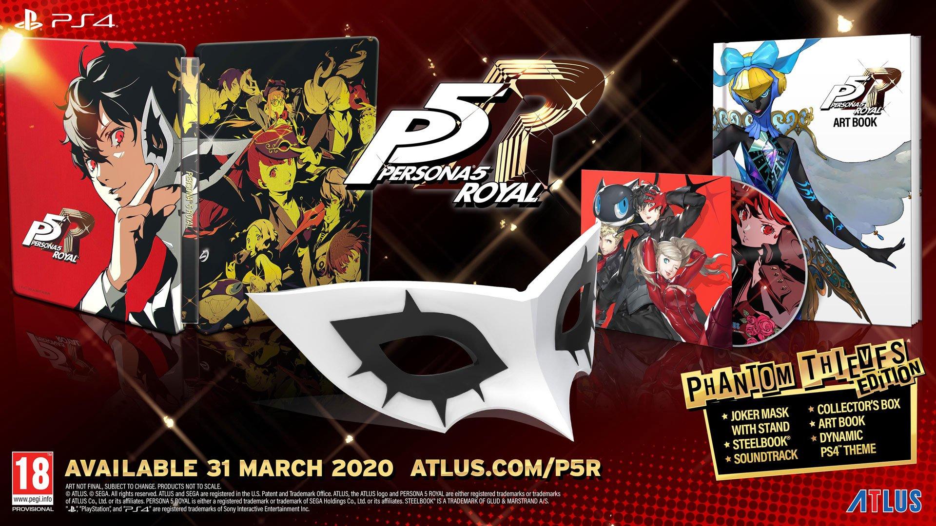Gra PS4 Persona 5 Royal Phantom Thieves Edition