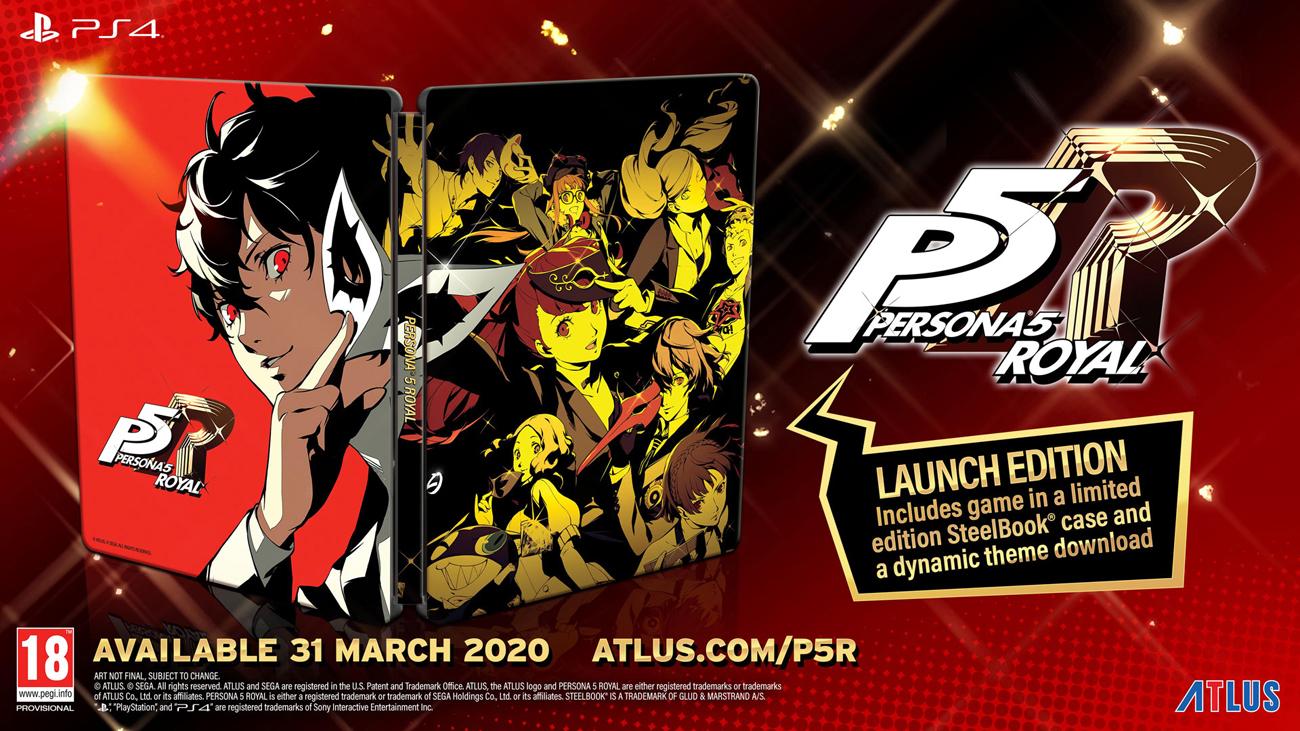 Gra PS4 Persona 5 Royal