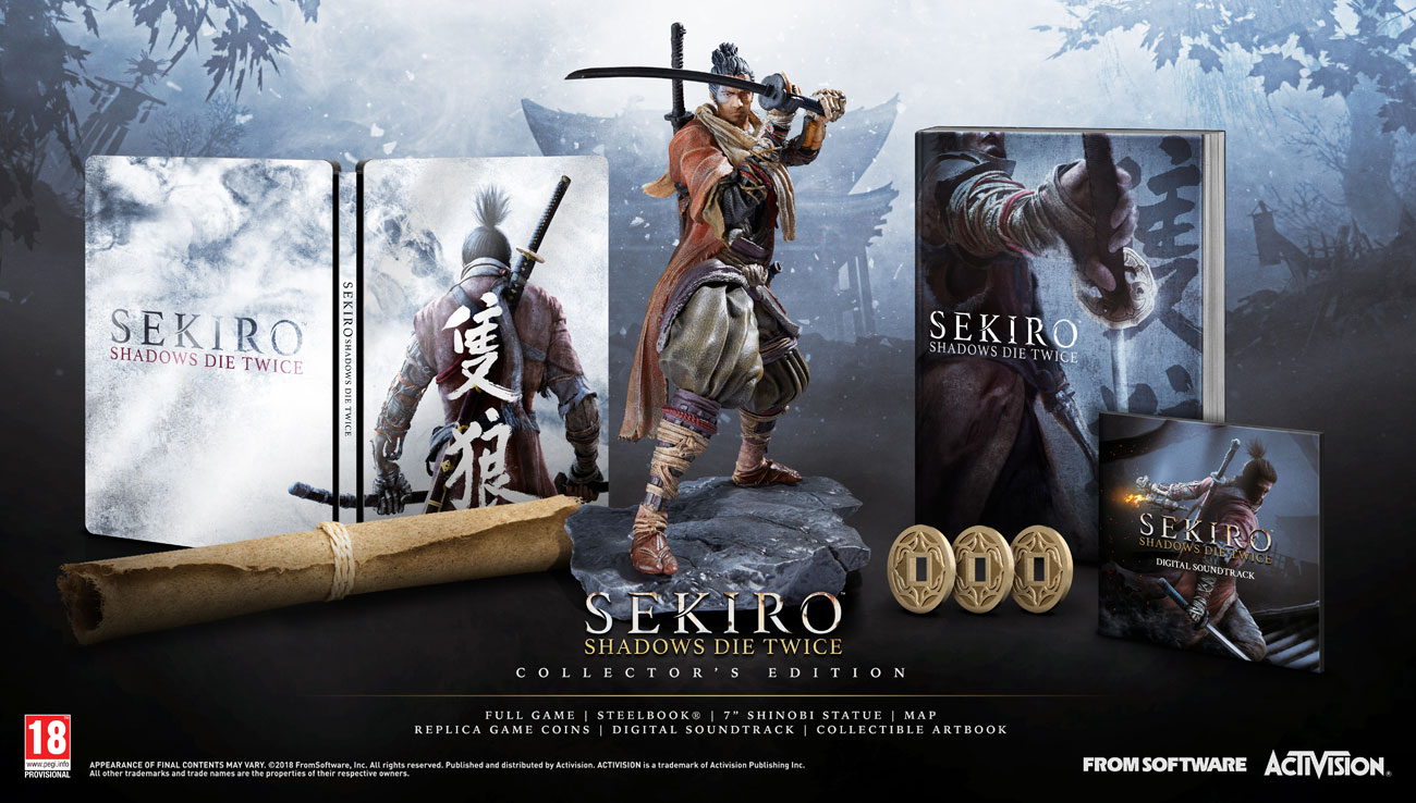 Gra PS4 Sekiro: Shadows Die Twice - Edycja Kolekcjonerska