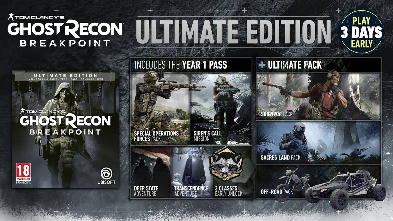 Gra Xbox One Ghost Recon Breakpoint Ultimate Edition
