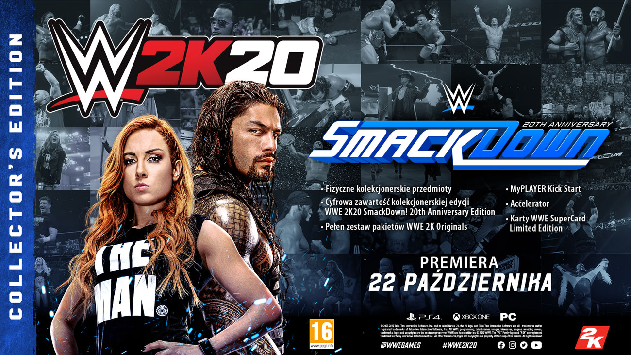 WWE 2K20 - Edycja kolekcjonerska