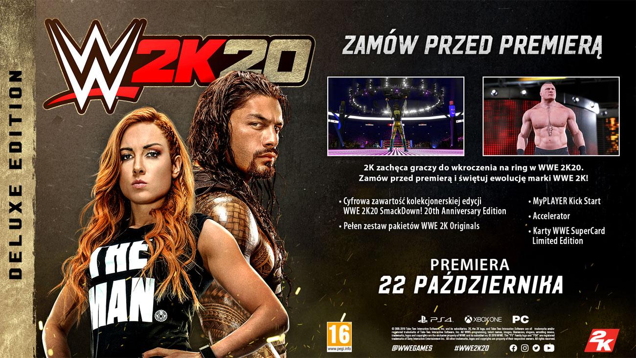 WWE 2K20 - Edycja deluxe