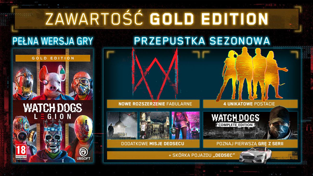 Gra Xbox Watch Dogs: Legion Gold Edition