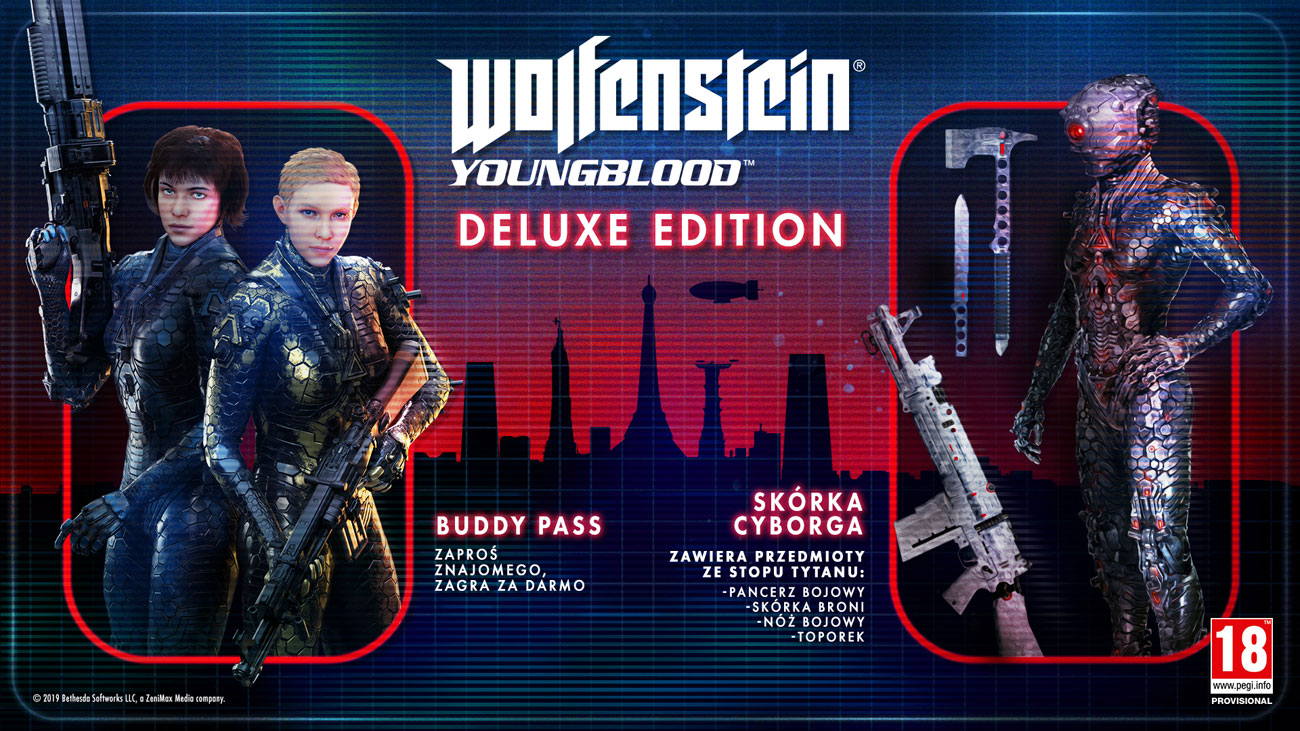 Gra Wolfenstein: Youngblood Deluxe Edition