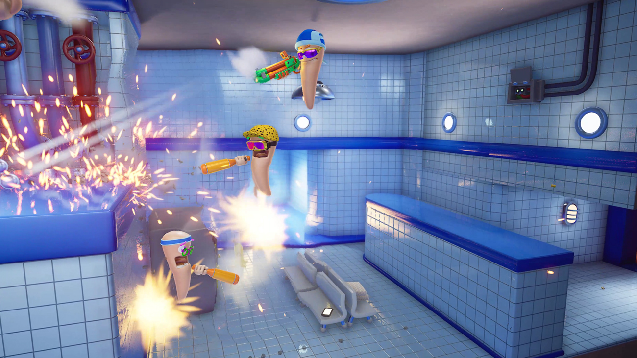 Gra Worms Rumble na Nintendo Switch