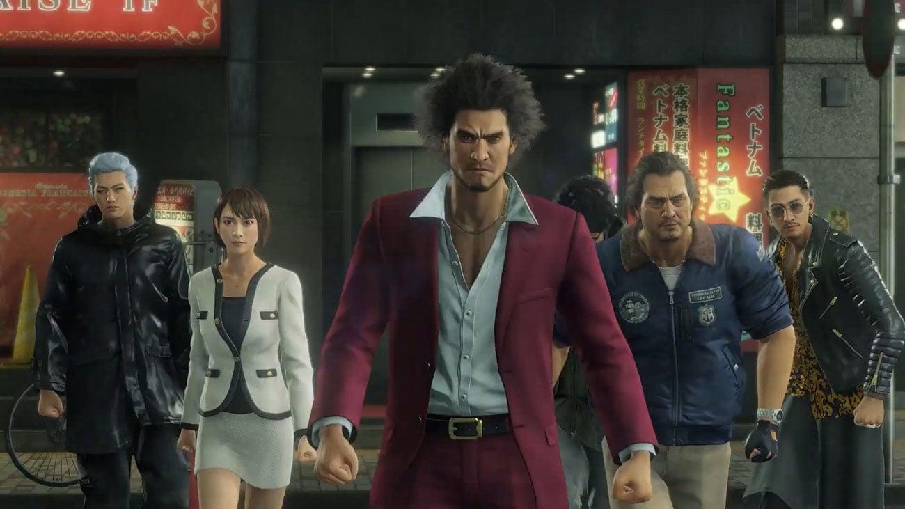 Gra PS4 Yakuza: Like a Dragon