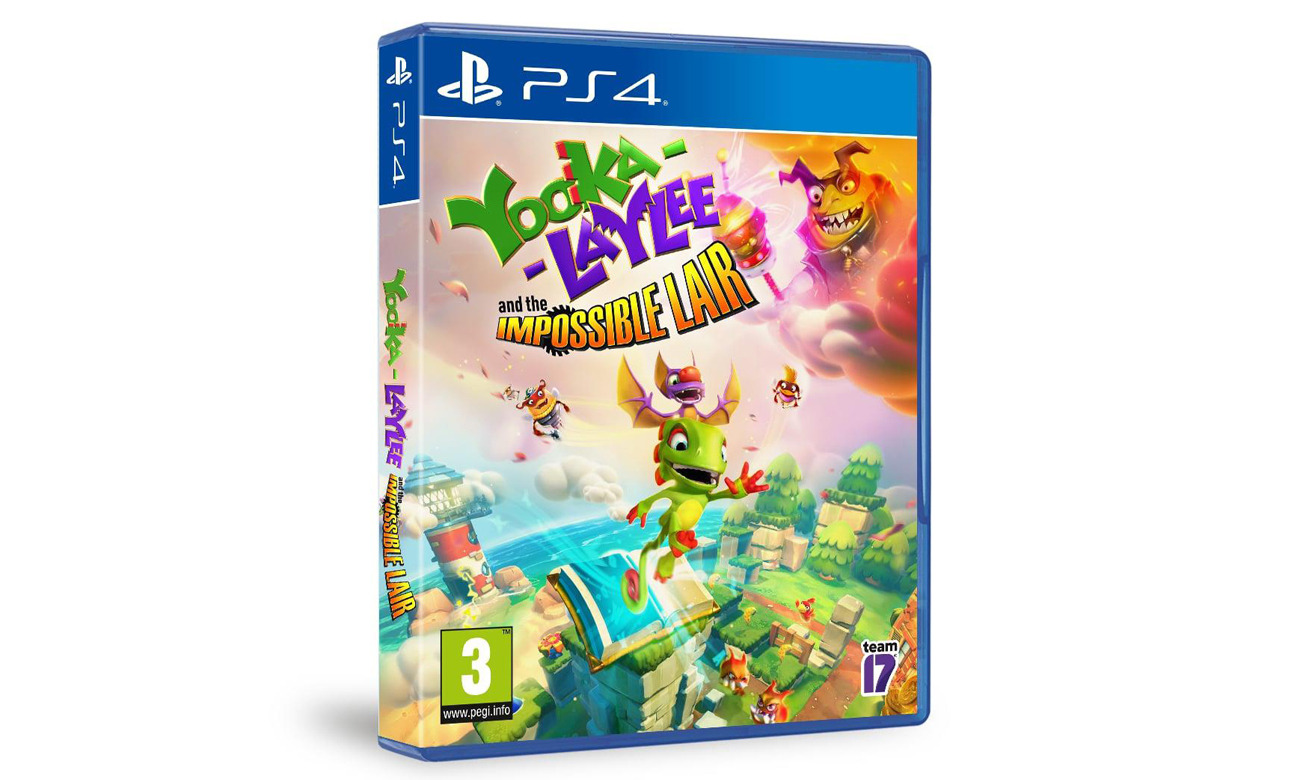 Poznaj świat Yooka-Laylee and the Impossible Lair