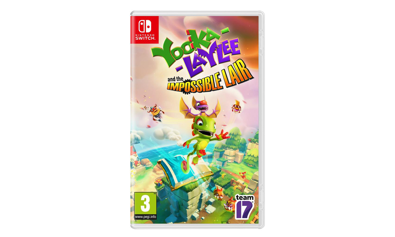 Gra na switch Yooka-Laylee and the Impossible Lair