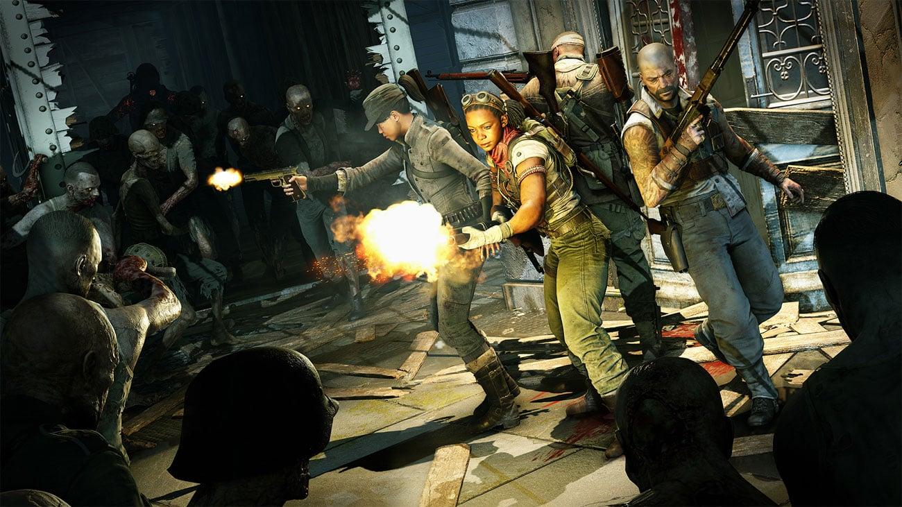 Zombie Army 4: Dead War - Strzelanie