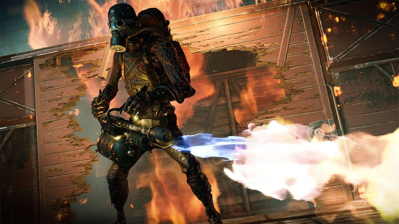 Zombie Army 4: Dead War - Ogień