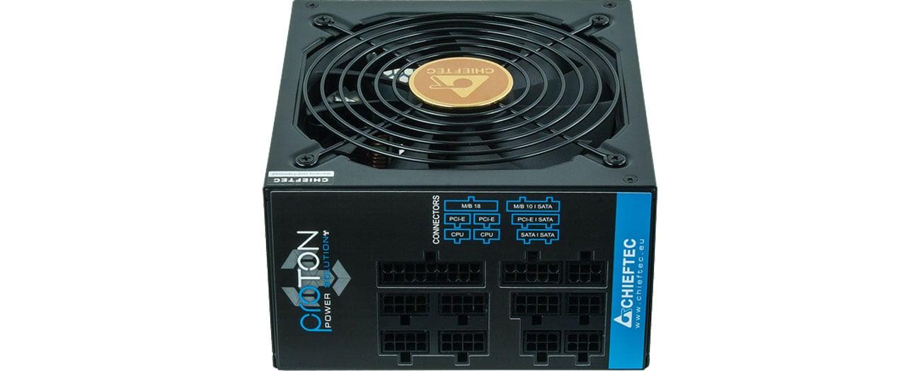 Zasilacz Chieftec 1000W BDF-1000C PROTON 80+ Bronze BOX BDF-1000C