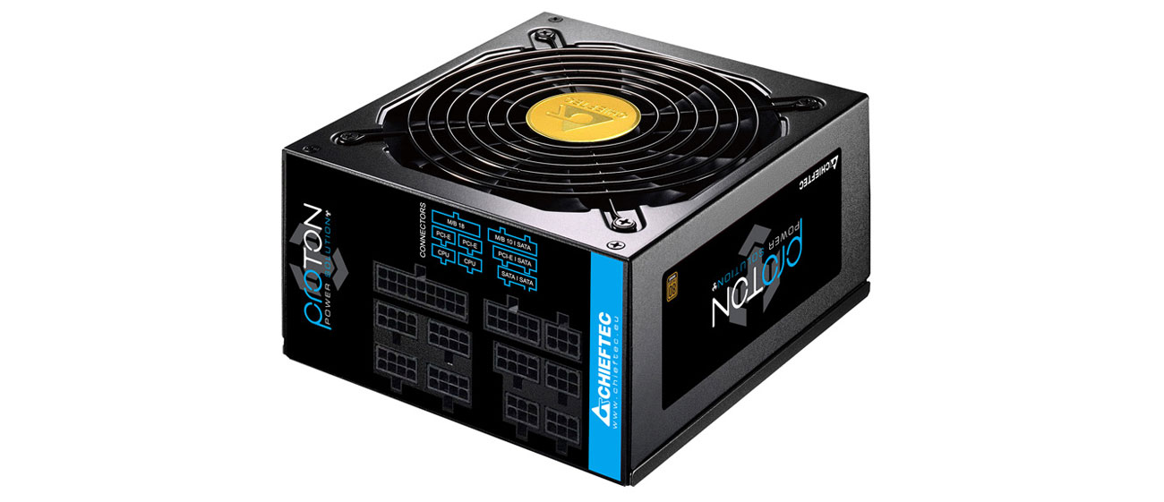 Zasilacz do komputera Chieftec Proton 850W 80 Plus Bronze BDF-850C