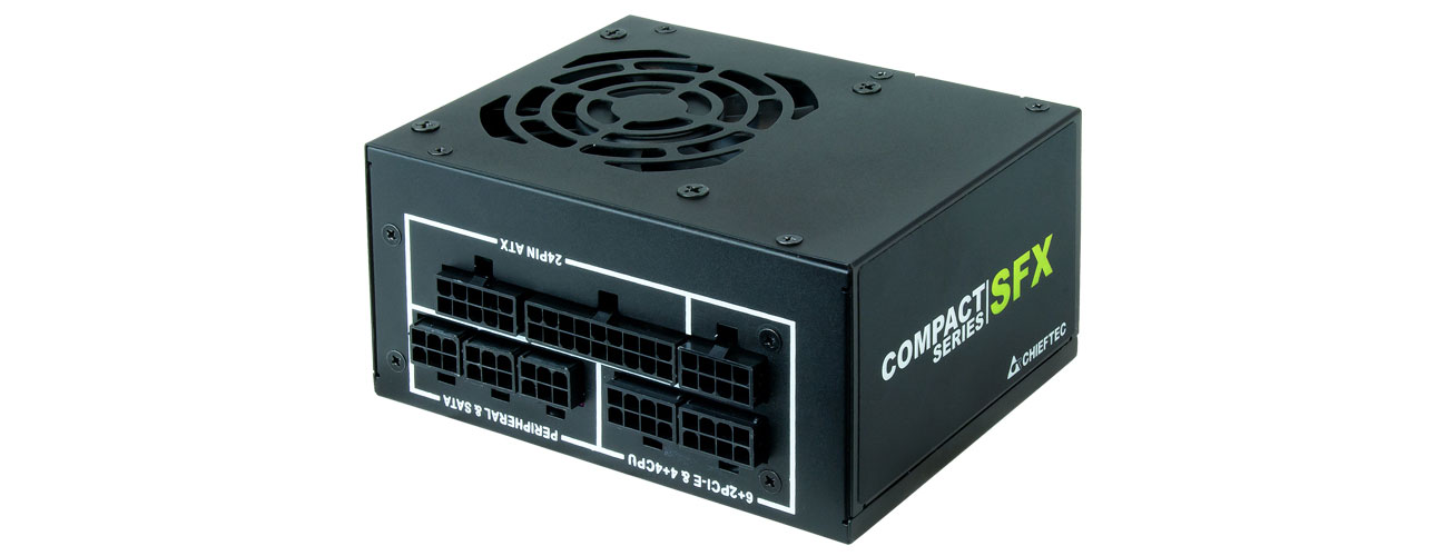 Zasilacz do komputera Chieftec Compact Series SFX 650W 80 Plus Gold CSN-650C
