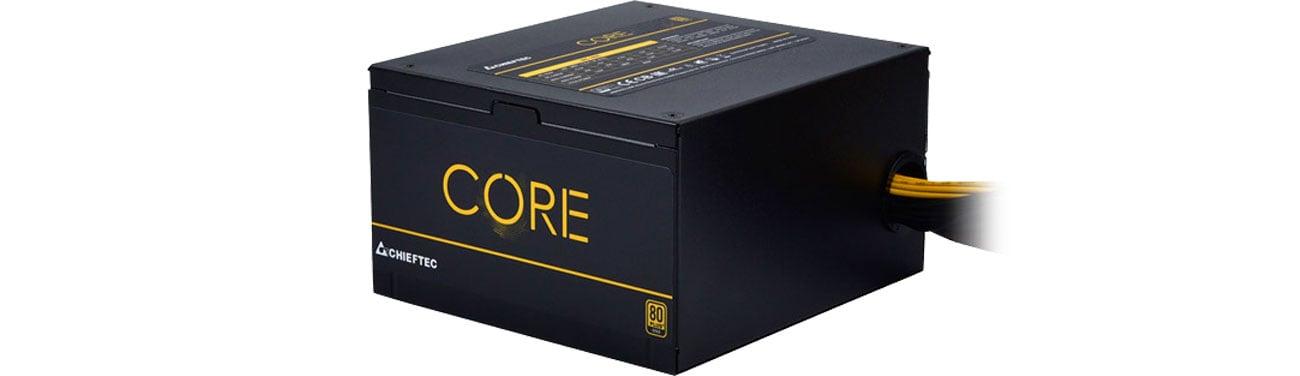 Chieftec Core - Certyfkat 80 PLUS Gold