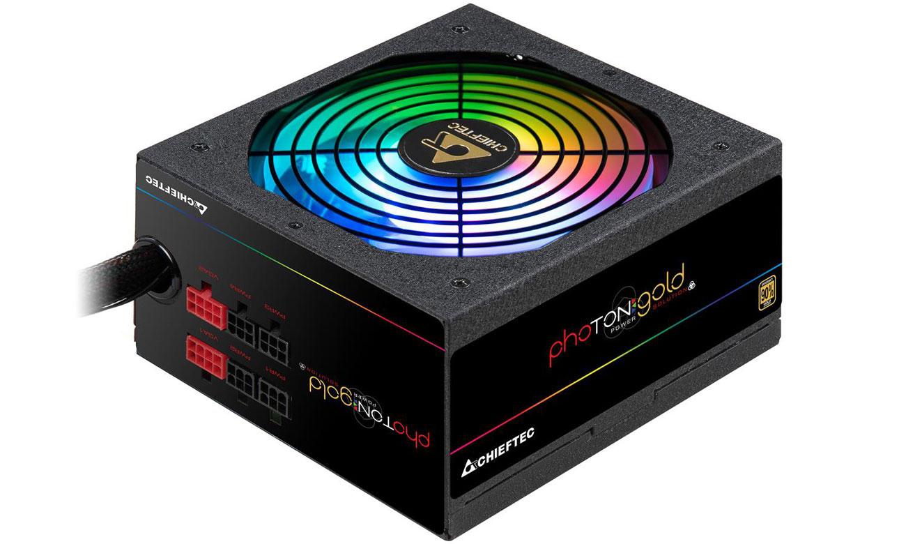 Zasilacz komputerowy Chieftec Photon Gold RGB 650W