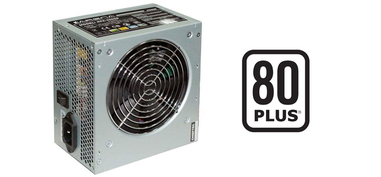 Zasilacz komputerowy Chieftec 350W - 80PLUS bezpieczenstwo