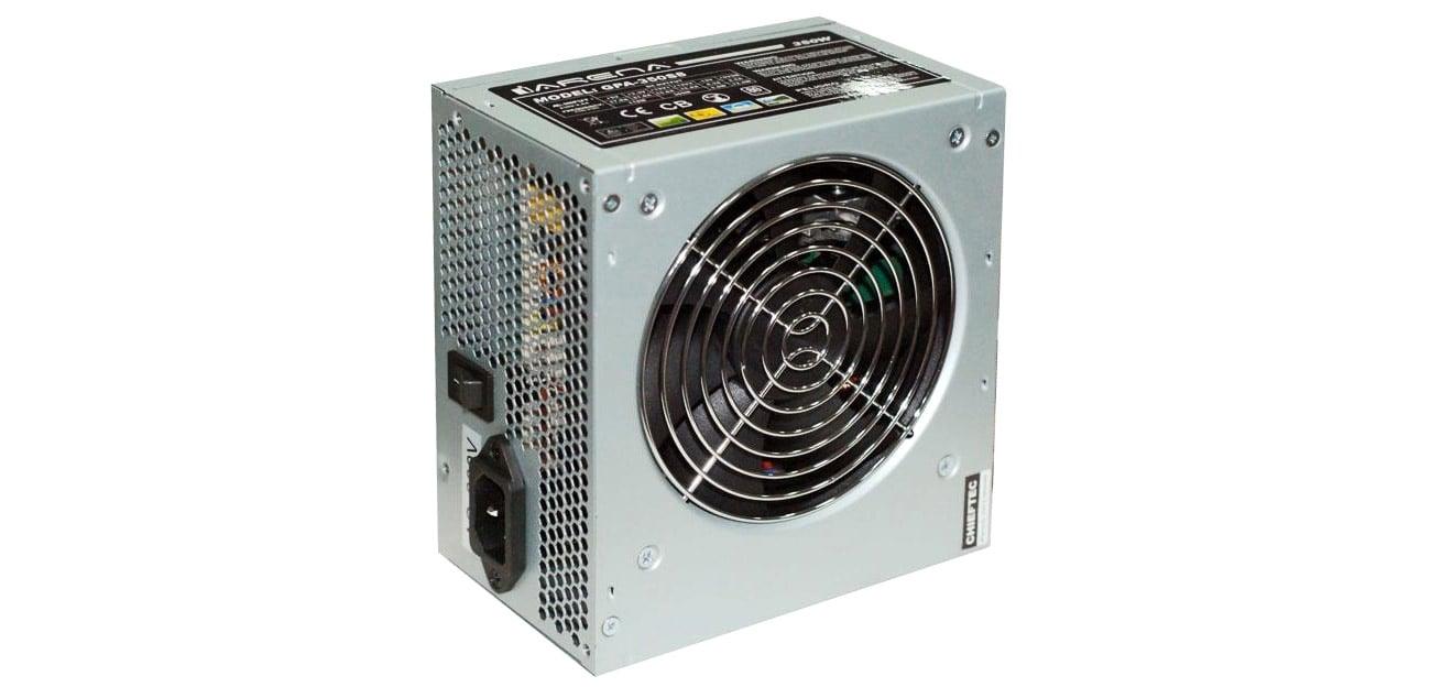 Chieftec 400W GPA-400S8 OEM zabezpieczenia