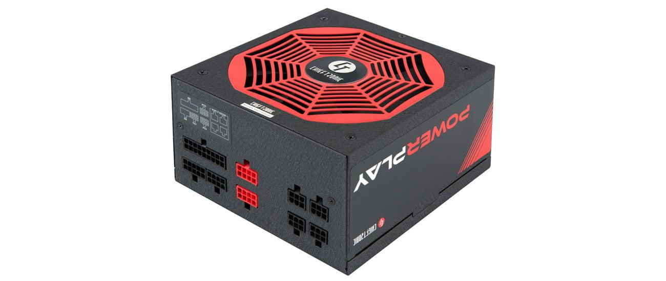 Zasilacz do komputera Chieftec Power Play 650W 80 Plus Gold GPU-650FC