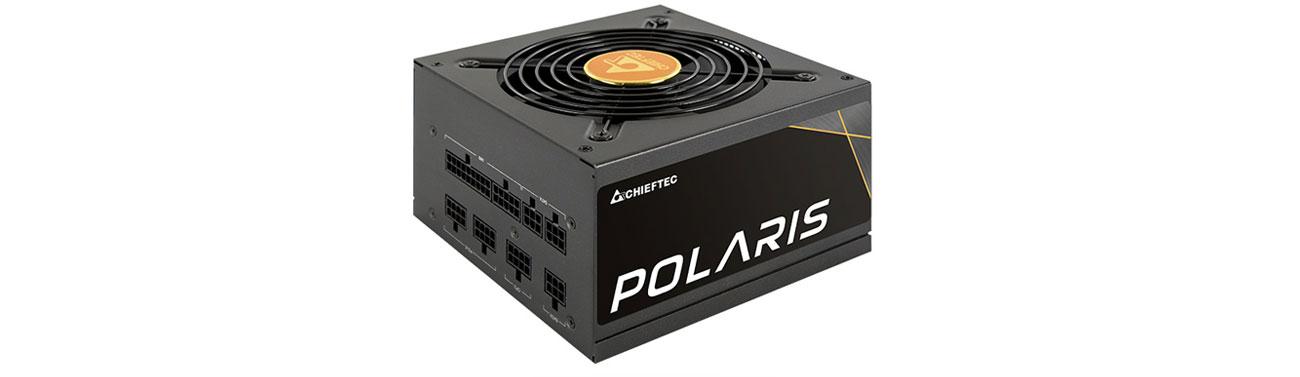 Zasilacz do komputera Chieftec Polaris 550W 80 Plus Gold PPS-550FC