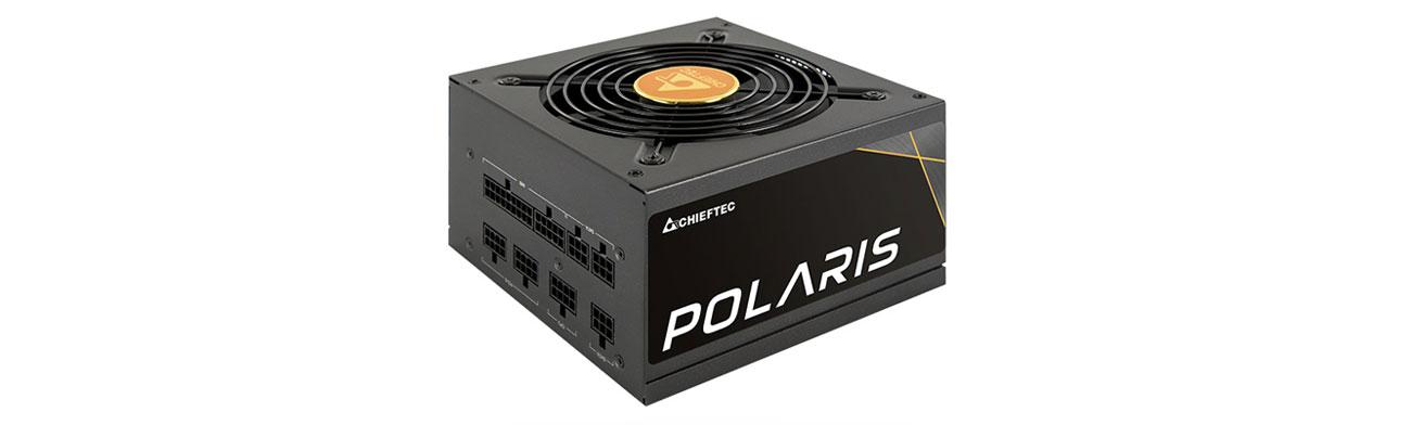 Zasilacz do komputera Chieftec Polaris 750W 80 Plus Gold PPS-750FC