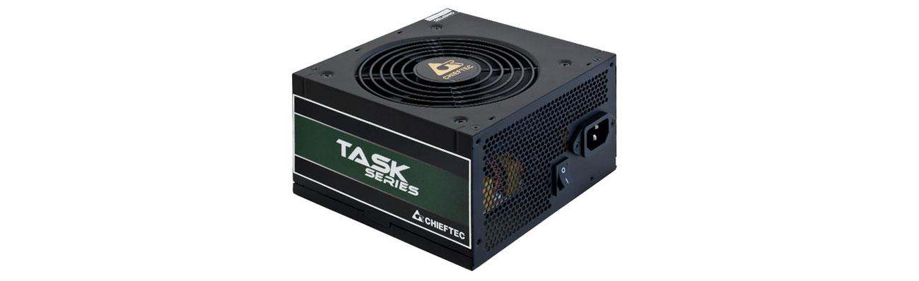 Zasilacz do komputera Chieftec Task 500W 80 Plus Bronze TPS-500S