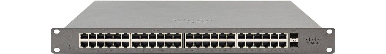 Switch Cisco Meraki Go GS110-48P-HW-EU PoE (48x1000Mbit, 2xSFP) GS110-48P-HW-EU