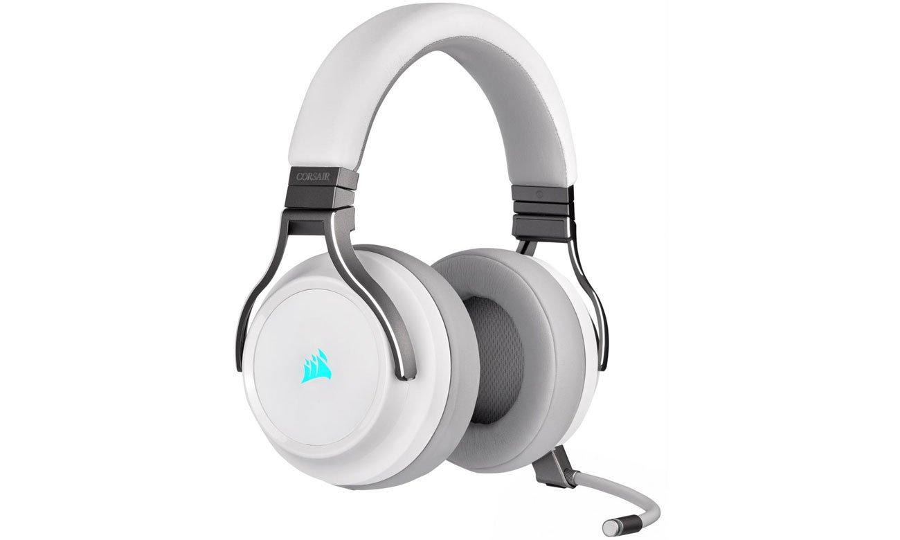 Zestaw słuchawkowy dla graczy Corsair Virtuoso White
