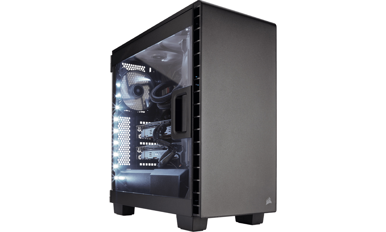 Corsair Carbide Clear 400C Case czarna CC-9011081-WW
