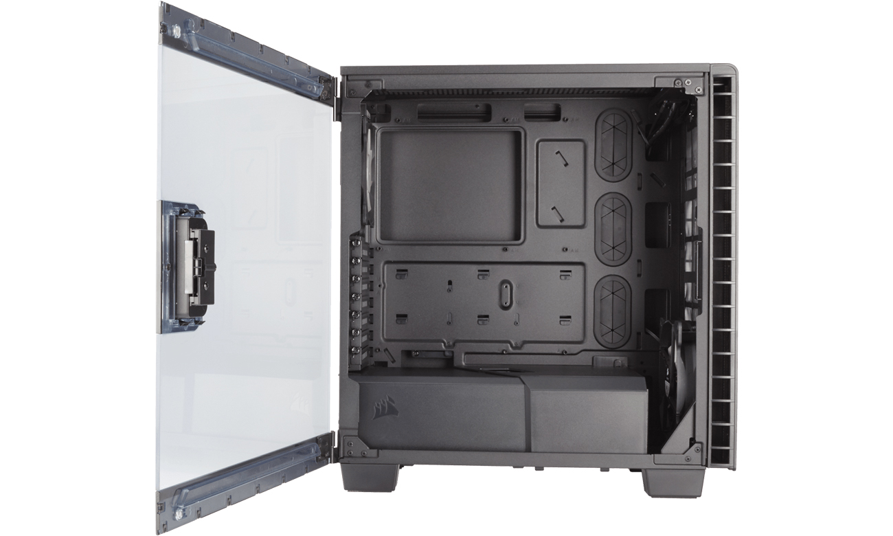 Corsair Carbide Clear 400C Case czarna przezroczysty panel