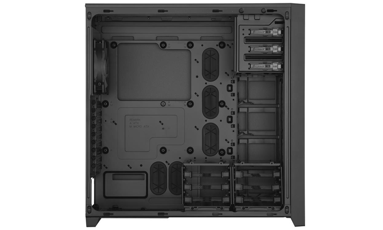 Obudowa ATX/BTX Corsair Obsidian Series 750D Full Tower